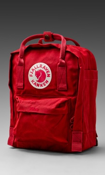fjallraven kanken mini ox red