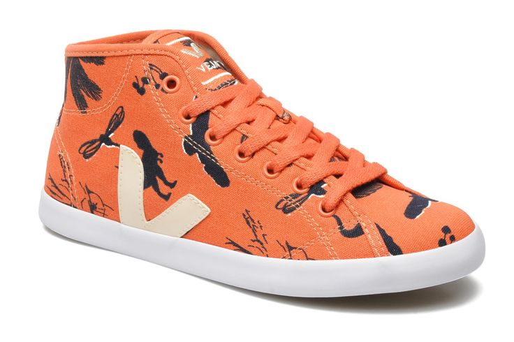 Veja Taua Mid (Orange) - Baskets chez Sarenza (195166)