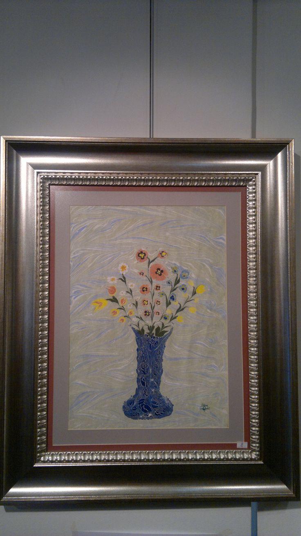 Vazoda çiçekler...
