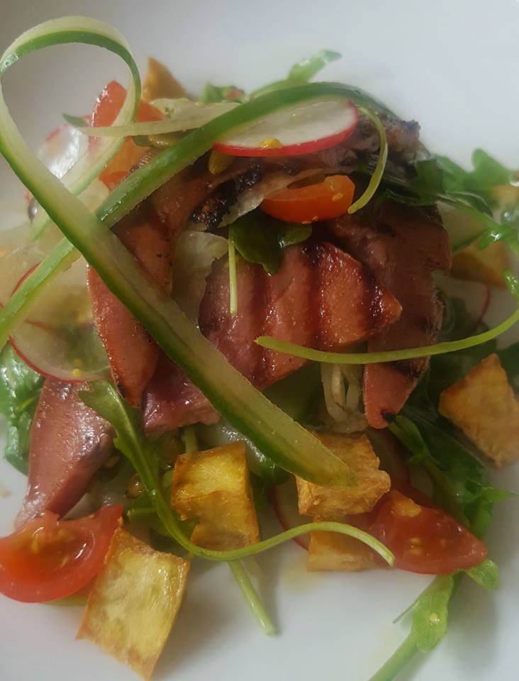 We got some lamb's tounge in today and have made a beautiful salad for our entree special tonight. Dare you to come try this flavoursome and tender meat. Fratelli restaurant, wellington. http://www.fratelli.net.nz/menu/