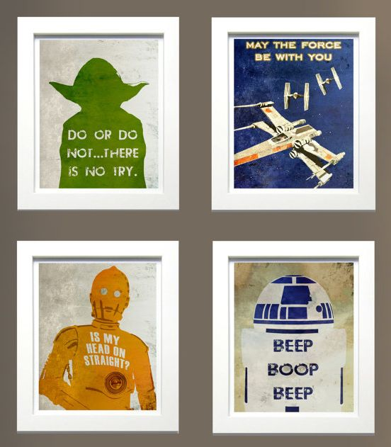 Redecorating Your Kid's Room with Star Wars style............................whatever that's for my room!