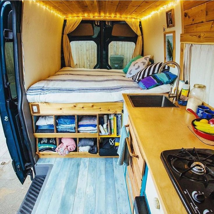 How's this layout? Just love the use of cupboard space and variation clever folk come up with. Something to consider next time you're looking to create space. @vanalog_vibes are giving you the opportunity to buy their home on wheels. Link is in their bio. #vanlifediaries . Be the change. You're awesome.jc by vanlifediaries