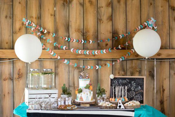 Wild & Free Birthday Party - Style Me Pretty Living