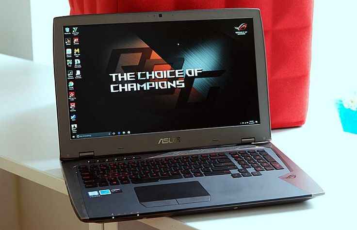 The Asus ROG G701VI is a powerful gaming notebook with a GTX 1080 GPU and a screen with the best viewing angles on the market.