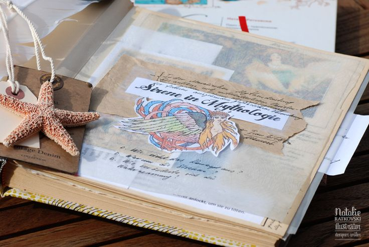 My scrapbook for my works in progress