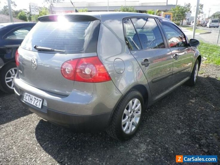 2007 Volkswagen Golf TRED Grey Automatic A Hatchback #vwvolkswagen #golf #forsale #australia