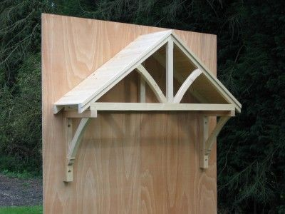 awning for front door | Timber door canopies- traditional cottage canopies - front door ...