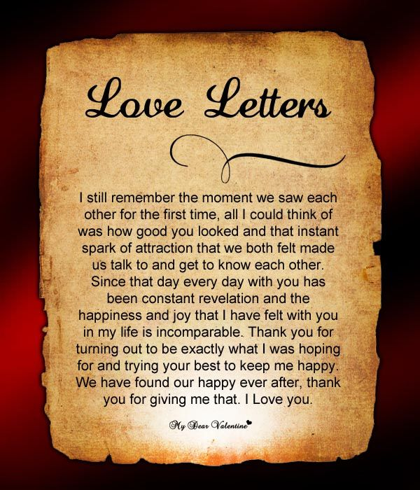 17 Best ideas about Romantic Letters For Him – Writing Romantic Letters