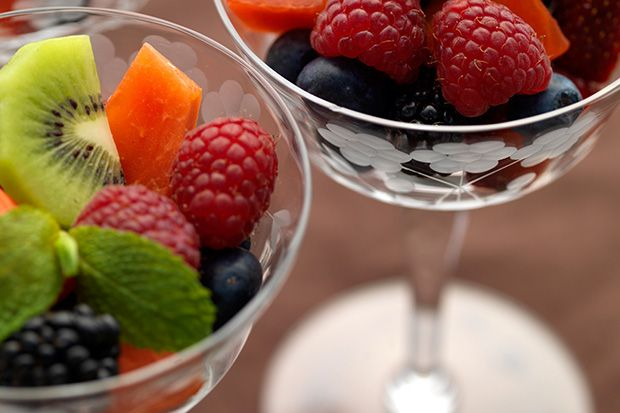 Find the recipe for Fruit Salad with Herb, Citrus, Mint-Maple, or Basic Syrup and other kiwi recipes at Epicurious.com