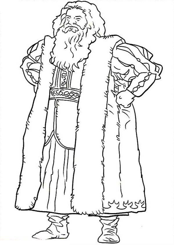 Chronicles of Narnia, : Father Christmas Chronicles of Narnia Coloring Page | Narnia | Pinterest ...