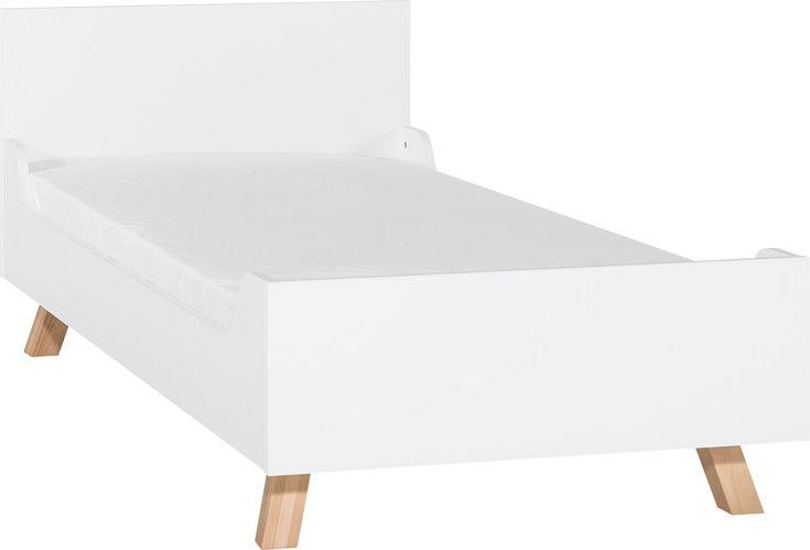 Cechy i korzyści: Łóżko 90x200 bez baldachimu to uzupełnienie szerokiej oferty łóżek z kolekcji 4 You by Vox. Zaoblone boki łóżka tworzą intymną przestrzeń i jednocześnie chronią przed nabiciem guza. ...