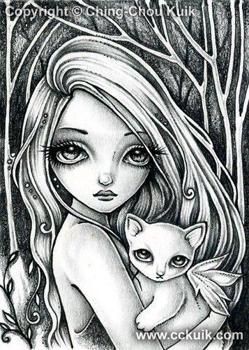 ChingChou Kuik Beautiful Art and Illustration Pinterest