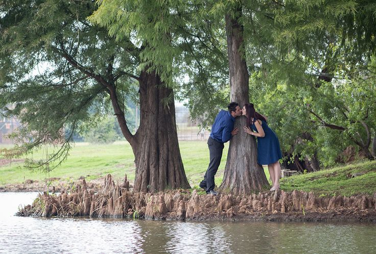 I love the peaceful, natural feeling of this photograph of Adelle & Franco (engagement shoot). ©CarissaGagashiPhotography