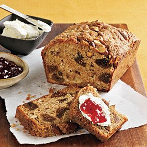 Fig, Applesauce, and Almond Breakfast Loaf Recipe | MyRecipes.com