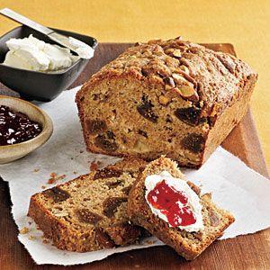 Fig, Applesauce, and Almond Breakfast Loaf Recipe   MyRecipes.com