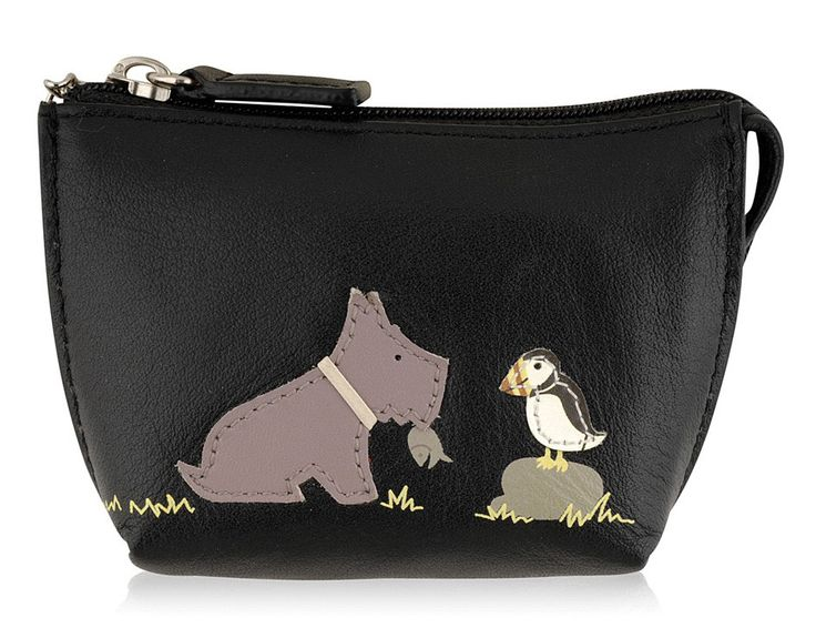 Radley's cute purse selection entitled Radley catch of the day features a puffin with the Radley dog - love this so much I bought the travelcard holder (green), purse (blue) and iPad cover (black) :)