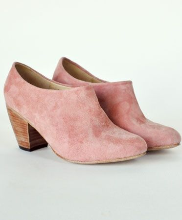Apricot Suede Lady Boot