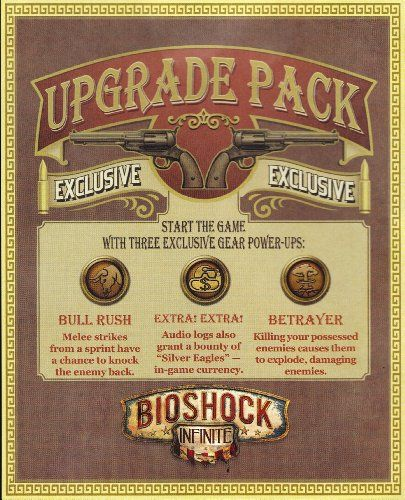 Bioshock Infinite Songbird Exclusive Upgrade Pack DLC code card for Sony PS3 *** Be sure to check out this awesome product.Note:It is affiliate link to Amazon.