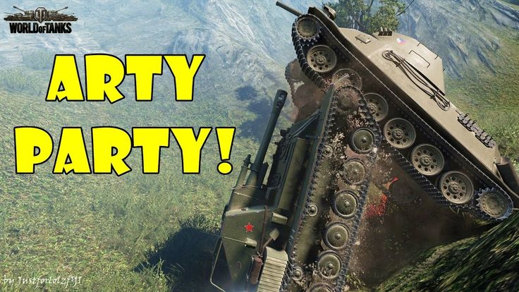 World of Tanks - Funny Moments | ARTY PARTY! #24