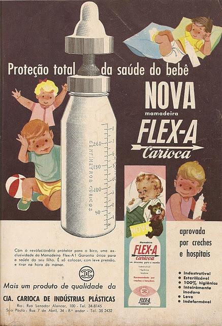 mamadeira flex-a 1962