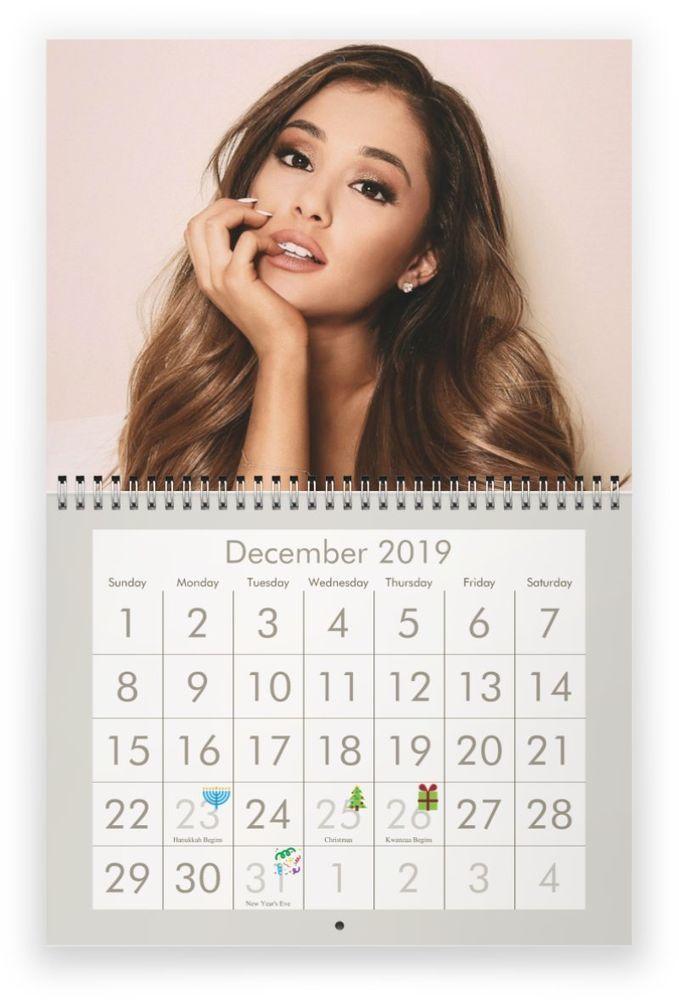 Ariana Grande Calendario.Pin On 2019 Calendars