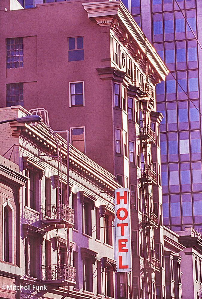 Old Hotel The Tenderloin, San Francisco  www.mitchellfunk.com