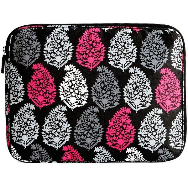 Vera Bradley Lighten Up Laptop Sleeve in Northern Lights (€35) ❤ liked on Polyvore featuring accessories, tech accessories, northern lights, laptop sleeve cases, vera bradley, laptop cases, padded laptop case and vera bradley laptop case