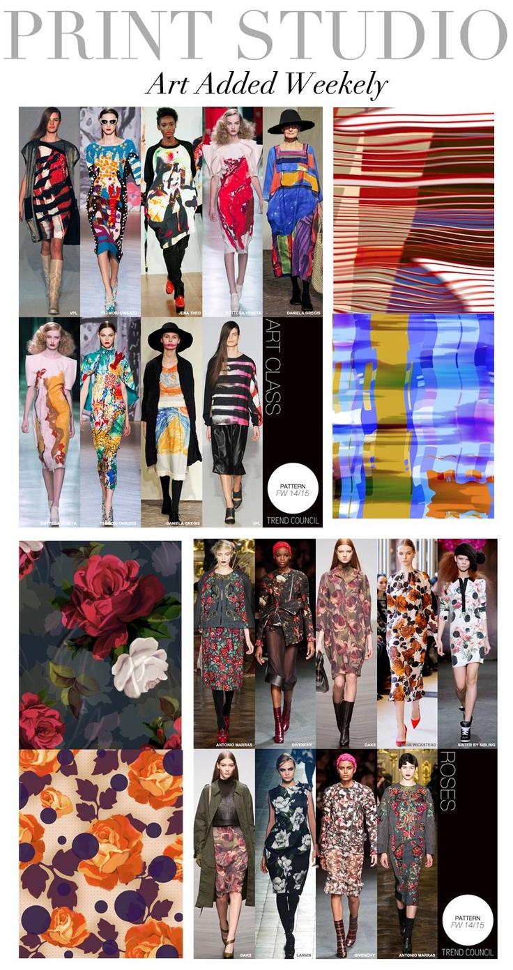 Future fashion trends 2014 - Trend Council Print Direction Trend Councilfuture Trends2014