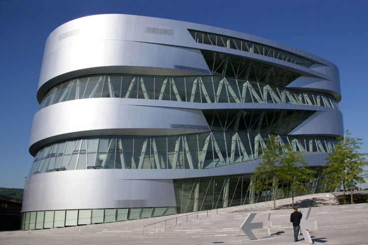 UNStudio, Wenzel + Wenzel, Christian Richters · Mercedes-Benz Museum · Divisare