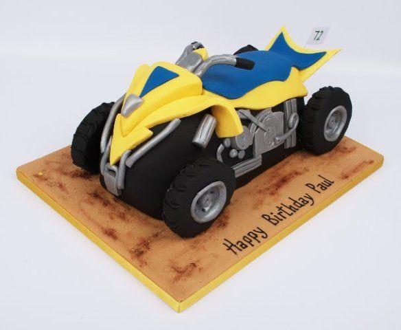 Quad Bike Cake Designs