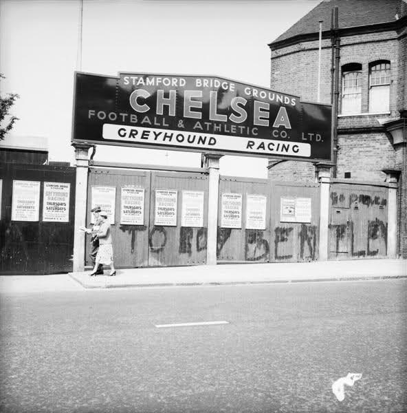 Stamford Bridge in 1956!
