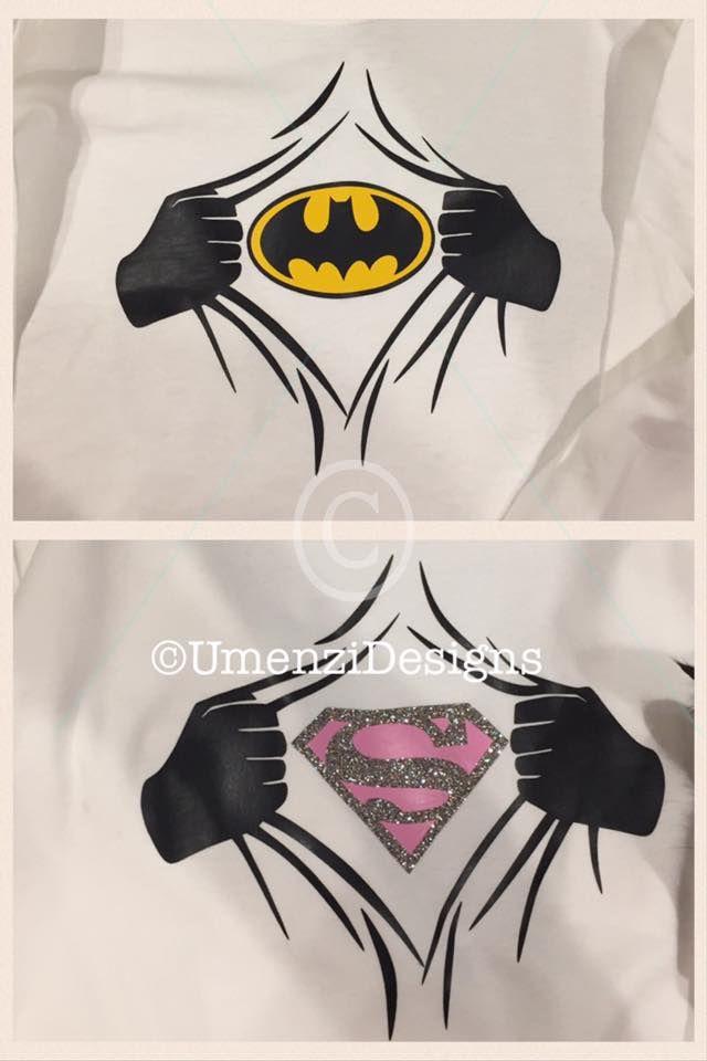 how to make superhero shirts