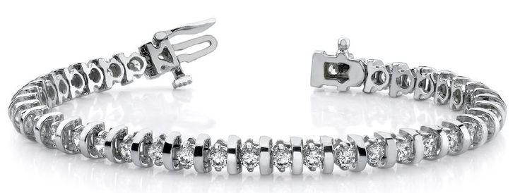 Diamantarmband 3.00 Karat aus 585er/750er Gelb- oder Weißgold  #diamantarmband #diamonds #diamante #diamanten #gold #schmuck #diamantschmuck #juwelier #abt #dortmund