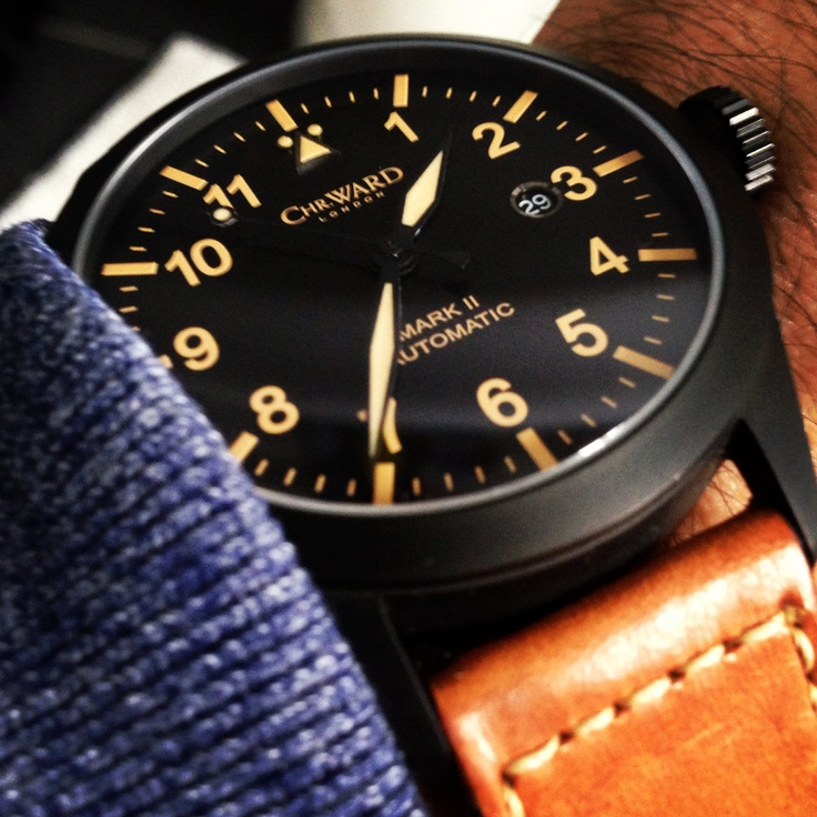 Watch is essential! Christopher ward
