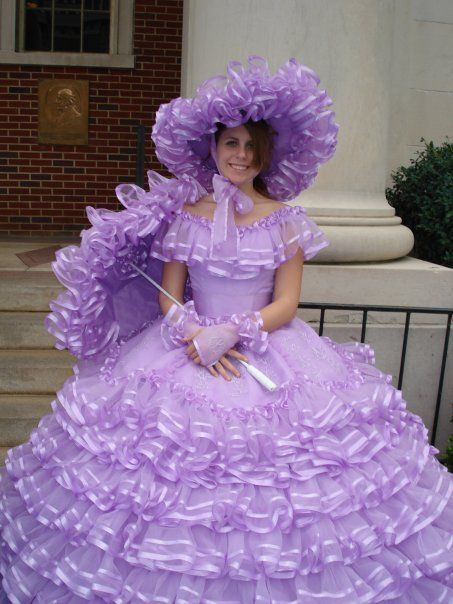Azalea Trail Maid...one of Mobile's official hostesses/Southern Belles