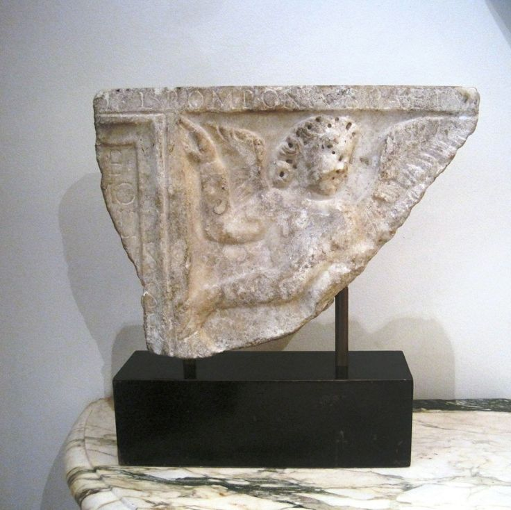 Roman Marble Fragment Depicting Eros