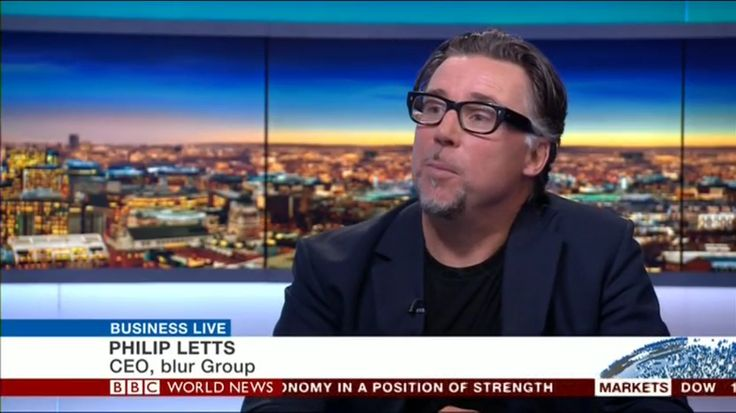 blur Group CEO Philip Letts on BBC World 'Business Live' news program last night discussing the impact of Brexit on the global tech sector