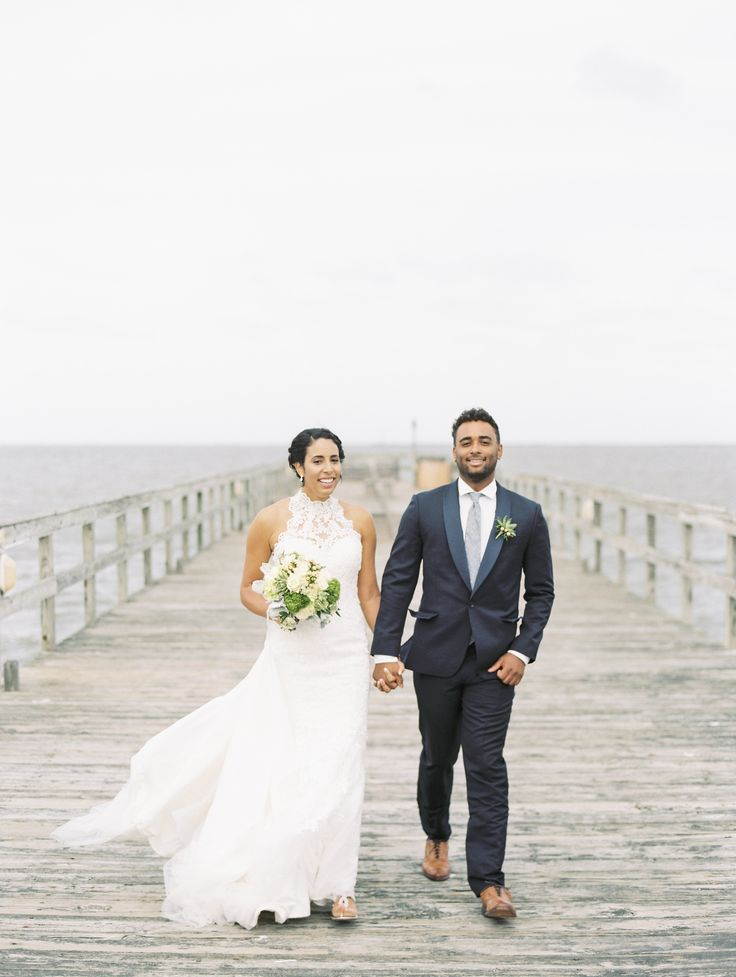 A Rustic Beach Wedding At Lewes Cfront In Delaware