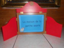 La maison de la petite souris : histoire pour kamishibai à imprimer