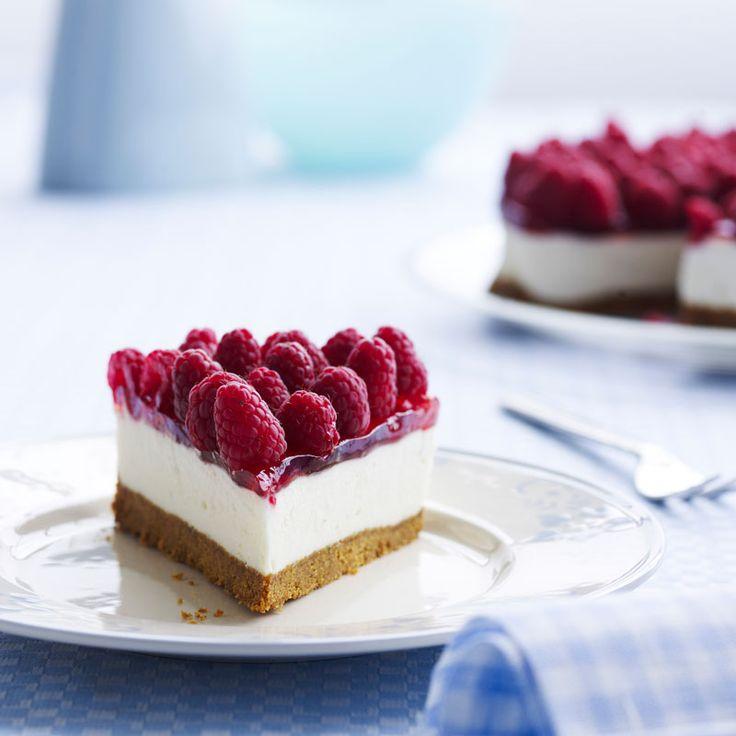 Recept på krämig new york cheesecake hallon | Matmagasinet