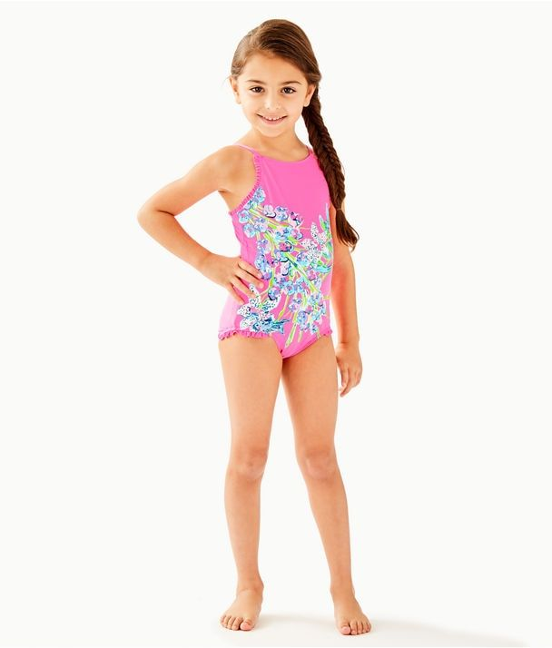 HEART SWIMSUIT  SWIMWEAR All-Over Print Youth Swimsuit Girls Swimsuit Pre-teen Swimwear Bathing Suit One Piece Leotard Girls Clothing