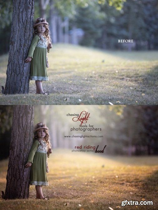 Chasing Light - Fairy Tale Bundle Photoshop Actions