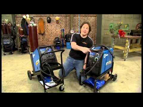 Review of Power Mig 180c Welder by Lincoln Electric - YouTube