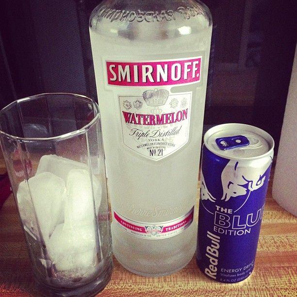 Smirnoff Watermelon Vodka Recipes Melon Loving: • 1 oz. Smirnoff Watermelon Vodka • 1 oz. Everclear • 1 oz. Pink Lemonade • 1-2 oz. Whipped Cream Add pink lemonade to the everclear, then add...