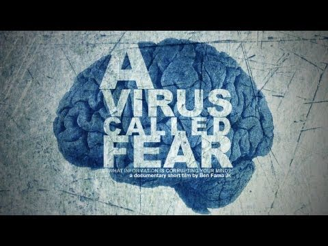 "Very few people understand the programming of fear, and why it distorts our perceptions.  While fear is a program used for our survival, fear also creates irrational beliefs that cause larger systems of fear like politics, religion and the media.  ""A Virus Called Fear"" is a short film about the conditioning of fear, and what irrational fears can... http://youtu.be/O-VLHNpwju0"