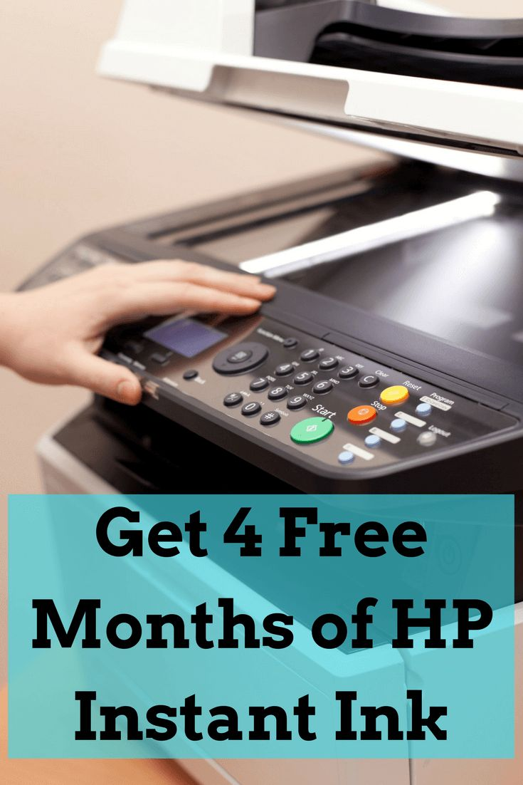 Get 4 Free months of HP Instant Ink! HP Instant Ink Promo Code