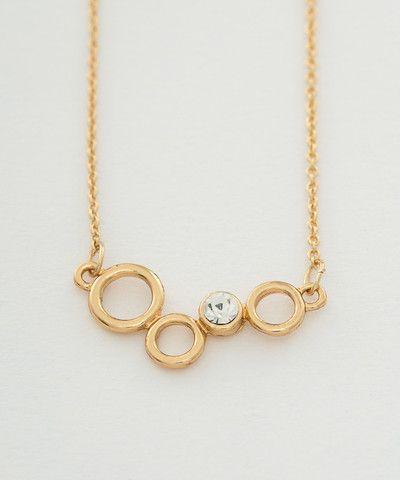Clear Bubble Pendant Necklace. $ 20.00