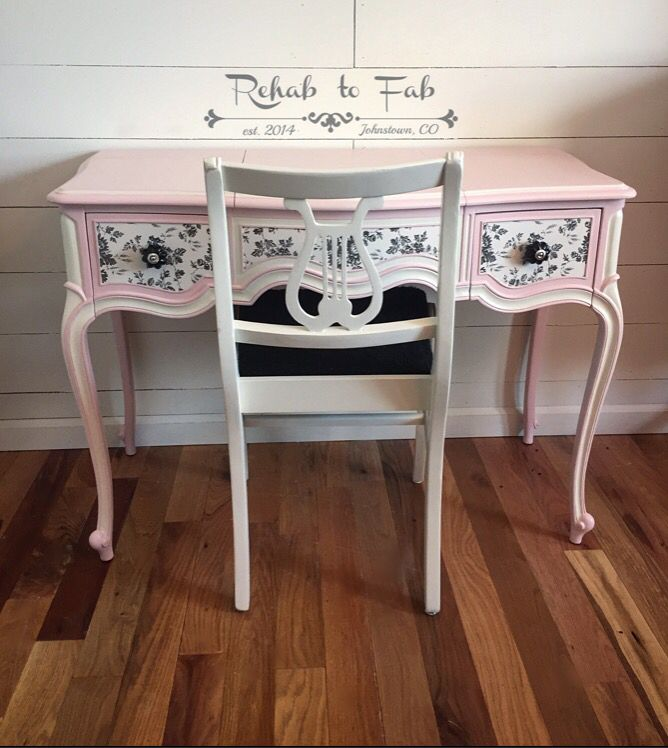 Painted Desks 240 best painted desk's & vanities. images on pinterest | painted