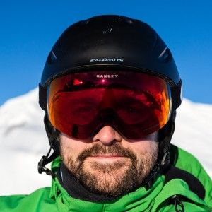 Oakley Flight Deck XM Prizm Torch Iridium - http://www.skiferietips.dk/skiudstyr/goggles/test #skiing #goggles
