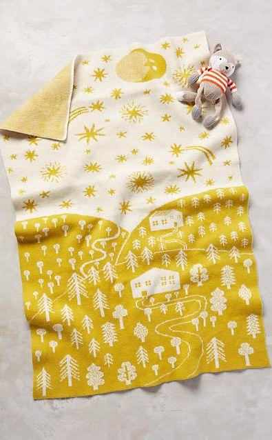 Lambswool Baby Blanket #anthroregistry
